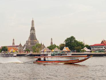 Long-tail boat, Bangkok