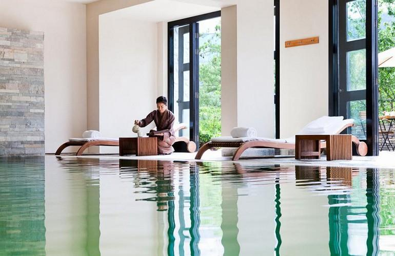 Indoor swimming pool, Uma By COMO, Paro