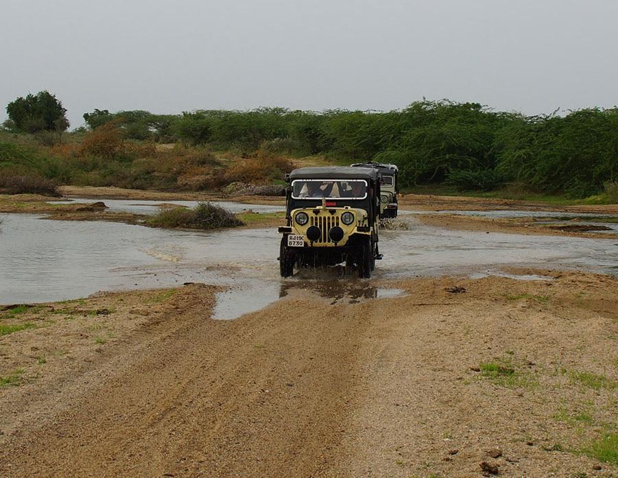 Jeep Drive, Chanoud Garh