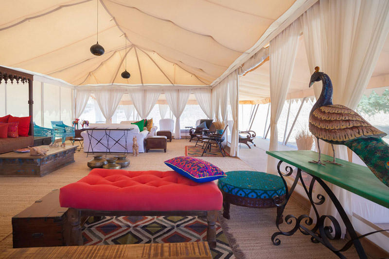 Lounge, Samsara Desert Camp