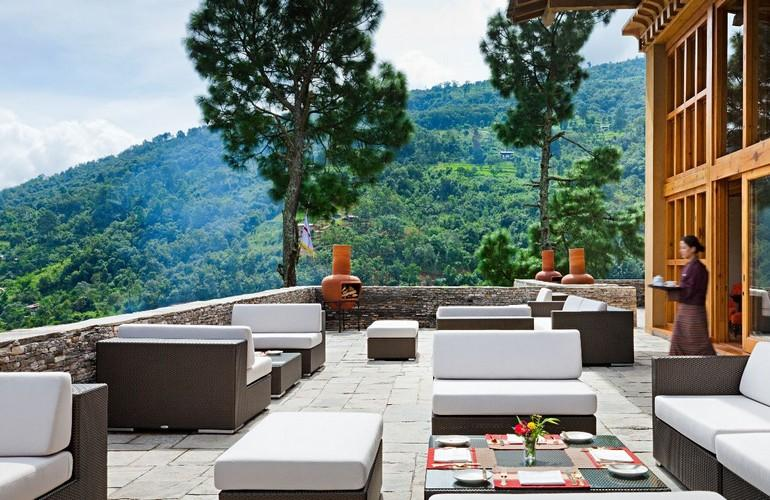 Outdoor Terrace, Uma By COMO, Punakha