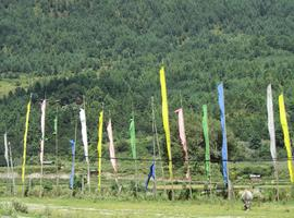 Prayer flags, Bumthang