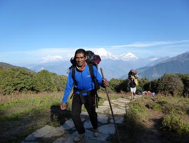 Trek to Ghorepani