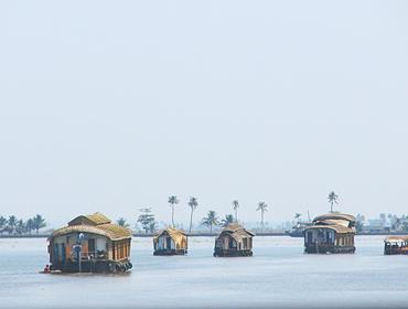 Houseboats, Vembanad Lake
