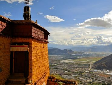 View over Lhasa, Lhasa