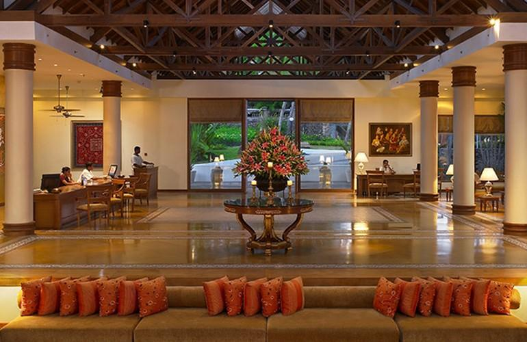 Lobby, The Leela Kovalam