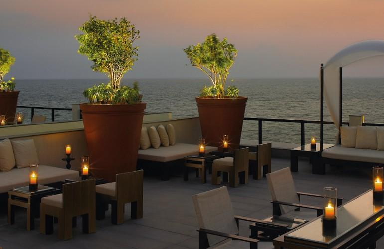 The Sky Bar, The Leela Kovalam