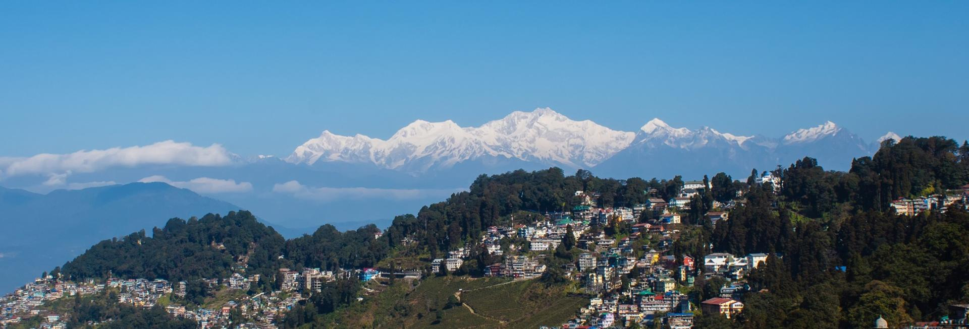 View over Darjeeling