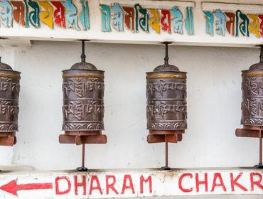 Prayer wheels, Kalimpong