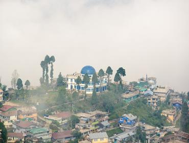 Misty hill-top, Darjeeling