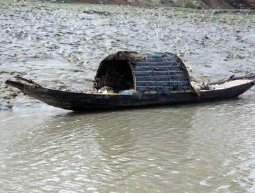 Fishing boat, Lower Ganges River