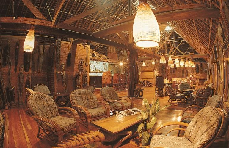 Lounge, Karawari Lodge
