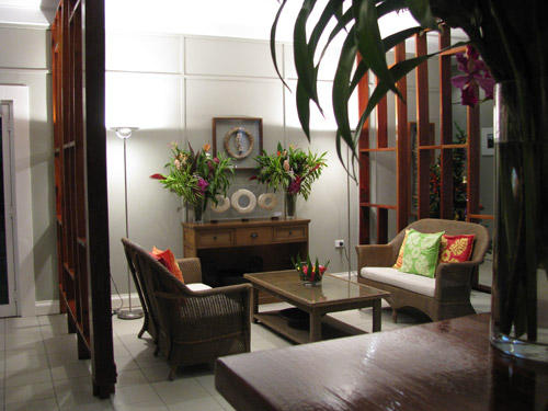 Relaxing area, In Wewak Boutique Hotel