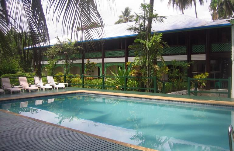 Swimming pool, Malolo Plantation Lodge