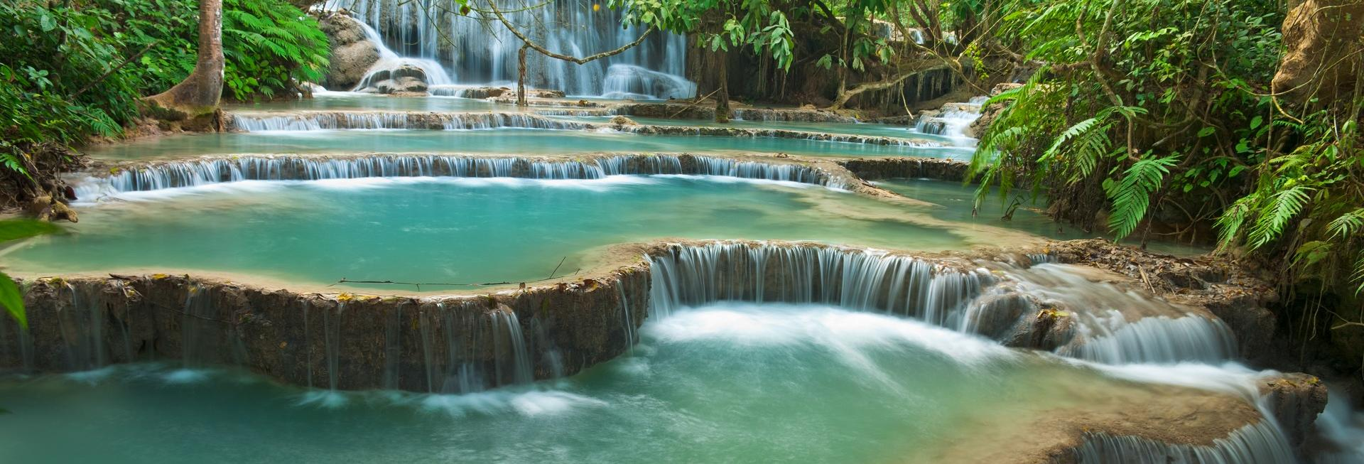 Waterfalls, Laos