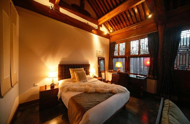 Bedroom, Shichahai Sandalwood Boutique Hotel