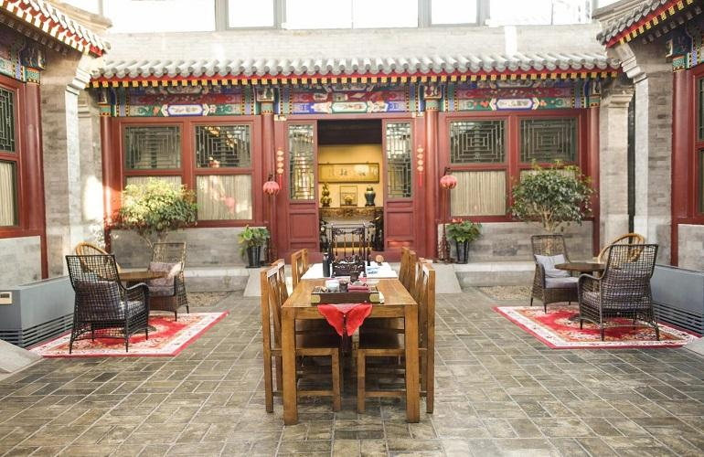 Courtyard, Shichahai Sandalwood Boutique Hotel