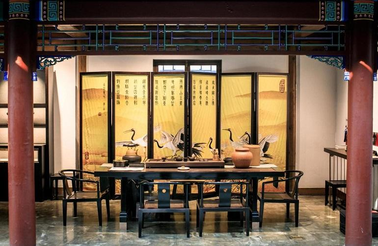 Tea House, Shichahai Sandalwood Boutique Hotel
