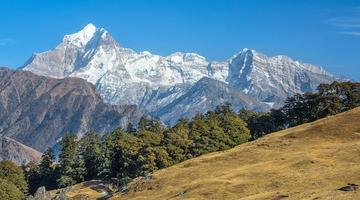 Trekking in the Himalayan Foothills