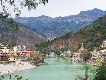 The Ganges at Rishikesh
