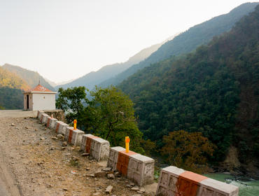 Road into Kumaon Hills