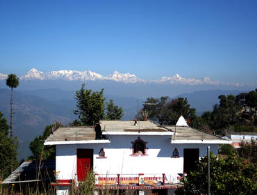 Village house in Kumaon Himalaya