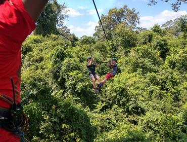 Angkor Zip-Lining Adventure