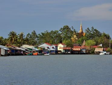 Fishing village, Kampot