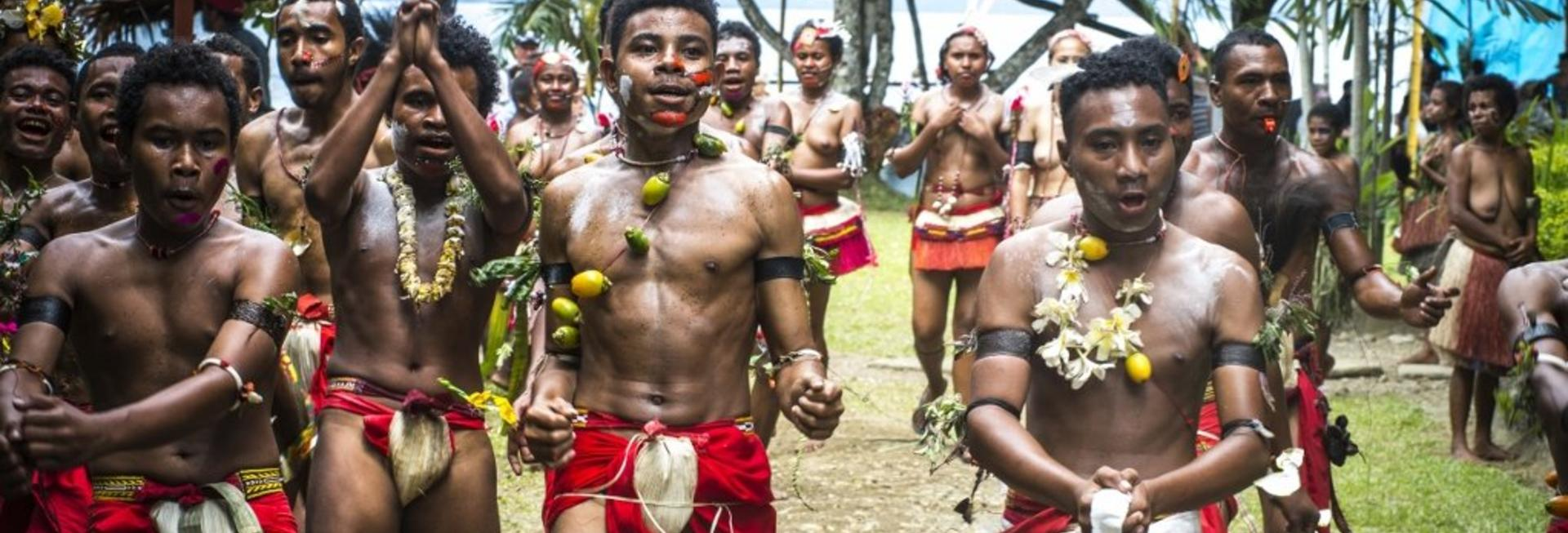 Dancers, The Trobriand Islands