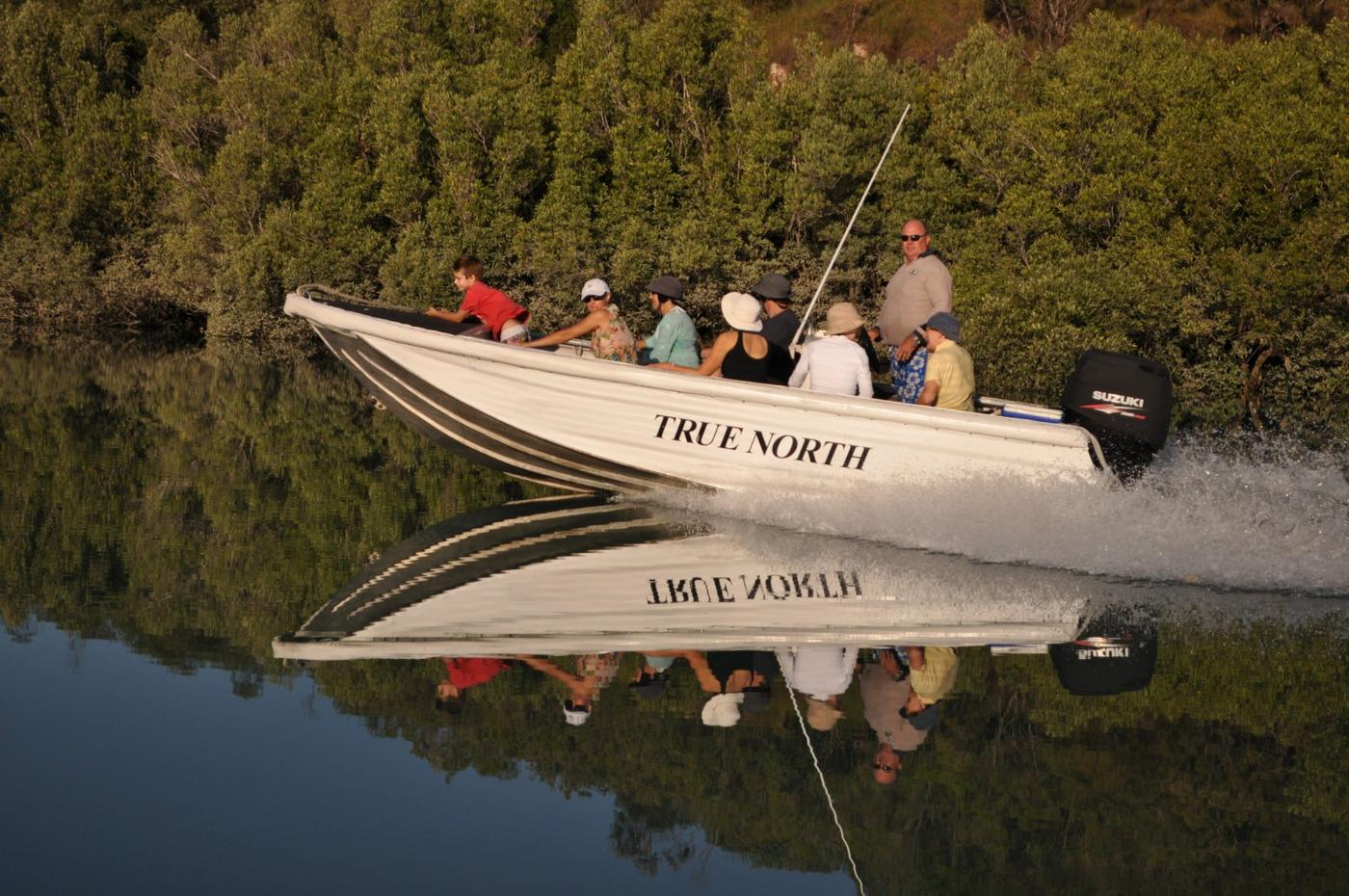 Excursion boat, True North
