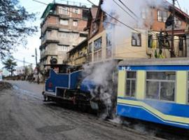 Toy train, Darjeeling