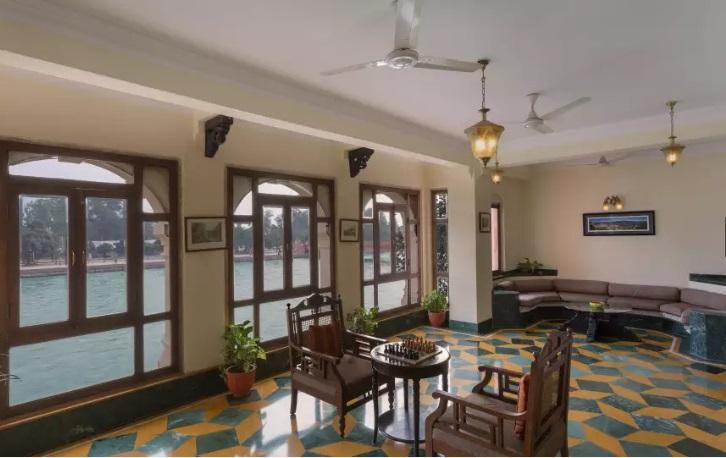 Lounge Area, Haveli Hari Ganga