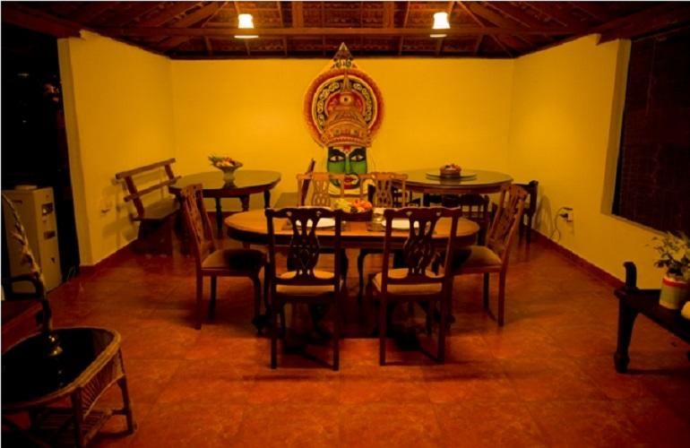 Dining Area, Vembanad House