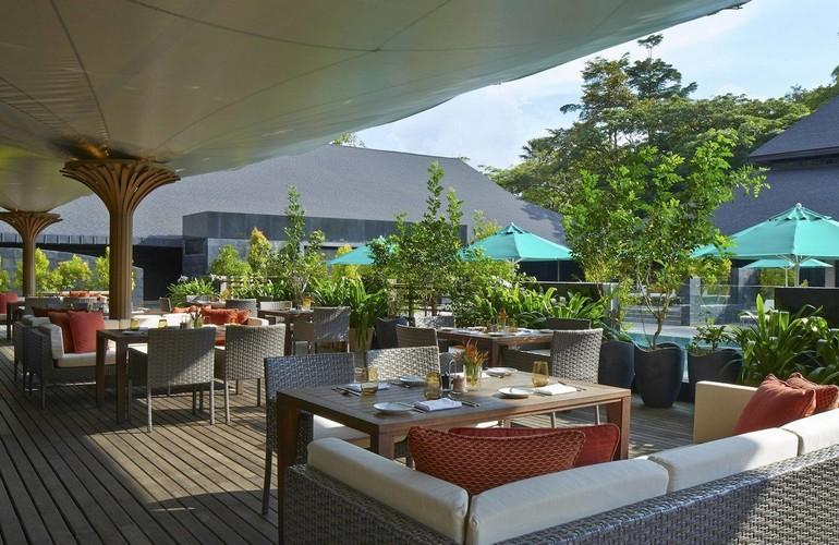 Terrace, Mulu Marriott Resort & Spa