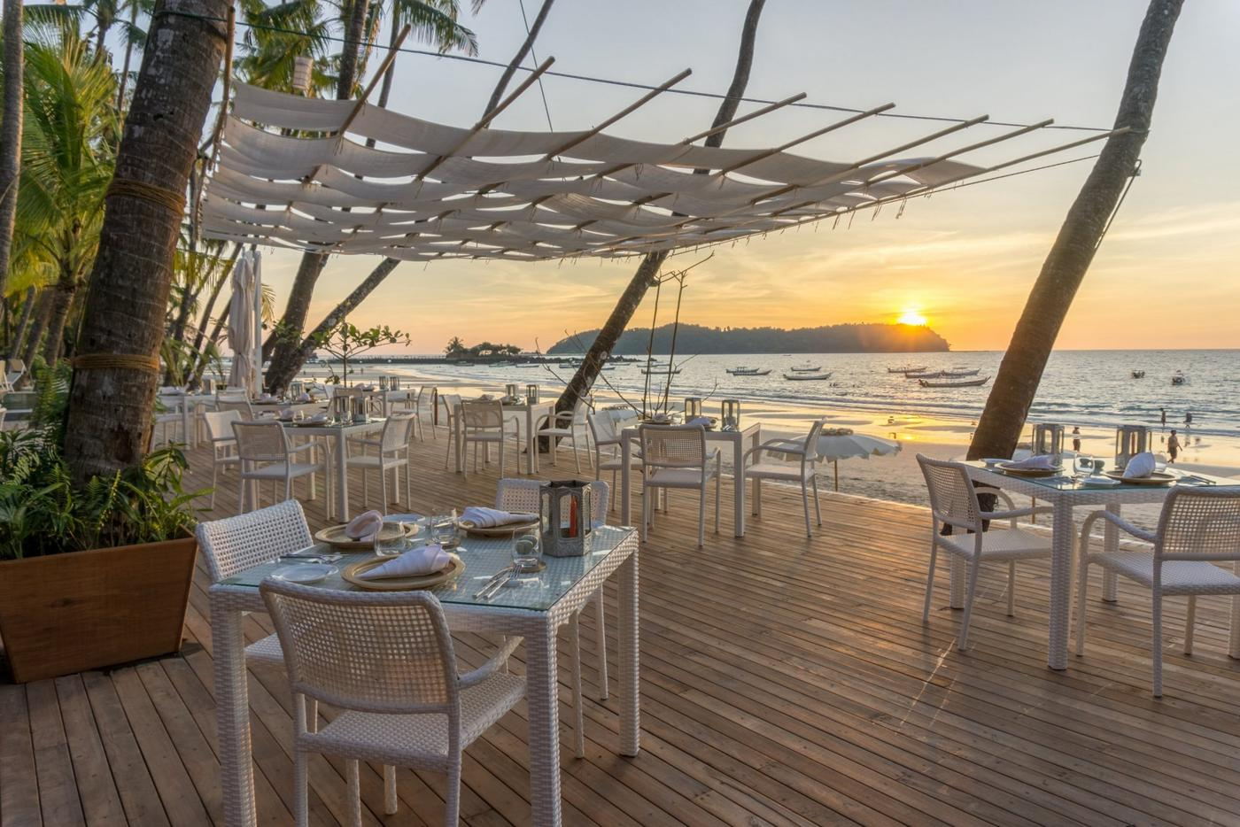 Restaurant decking, Art of Sand Resort