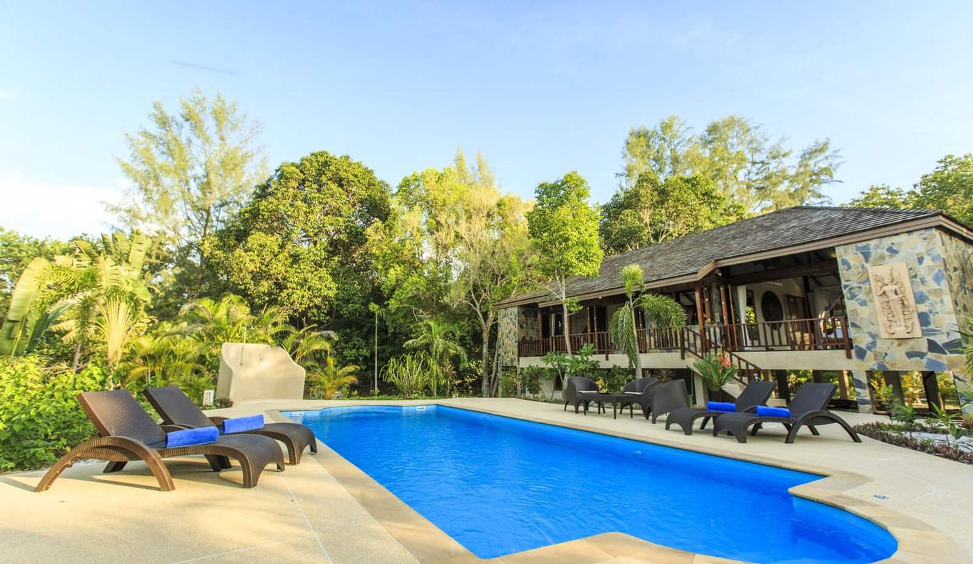 Pool at Three Bedroom Villa, Koh Jum Beach Villas