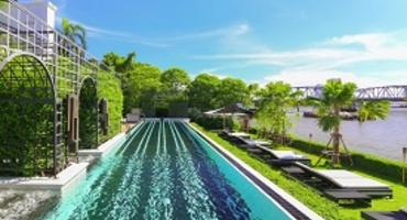 Infinity pool, The Siam Hotel, Bangkok