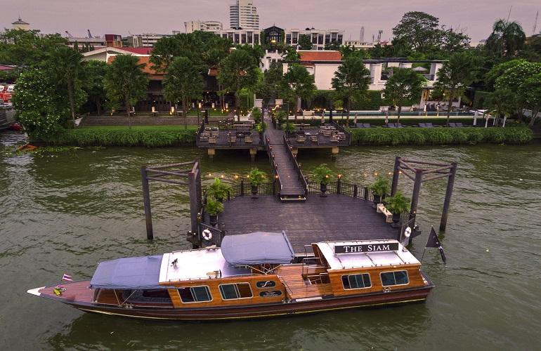 Sunset cruise, Siam Hotel, Bangkok