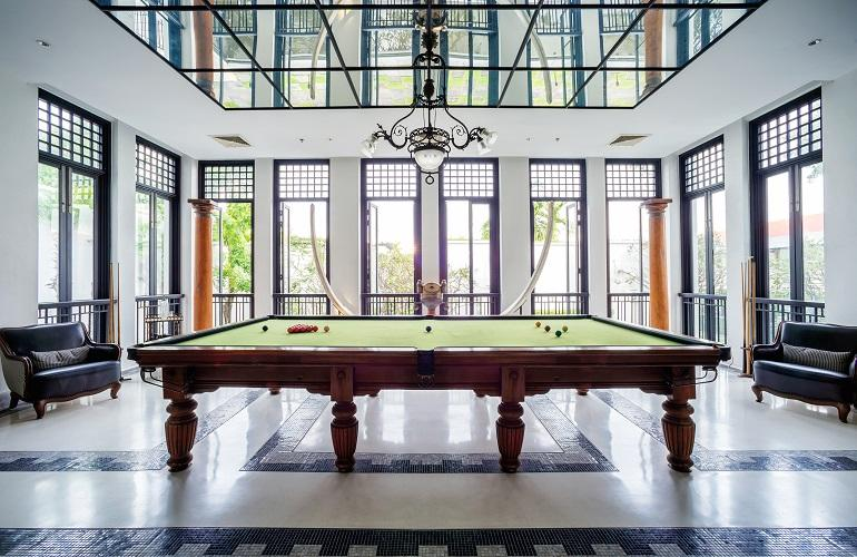 Billiard table, Siam Hotel, Bangkok