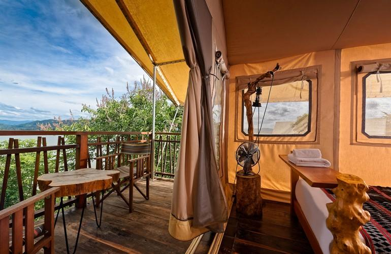 Lakeview Tent, LAK Tented Camp