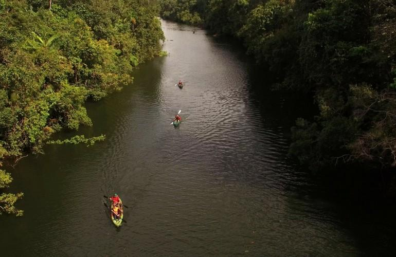 Kayaking, Cardamom Tented Camp