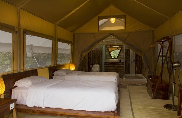 Bedroom, Cardamom Tented Camp