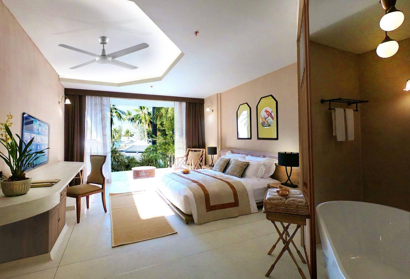 Seaside Grand Deluxe Room, Devasom Khao Lak