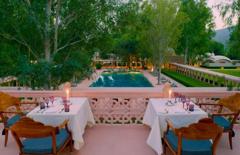 Roof Terrace Dining, Amanbagh