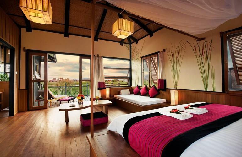 Bedroom, Inle Heritage