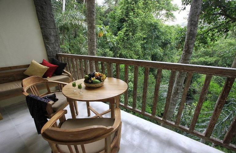 Kayon River Suite Balcony, The Kayon Resort