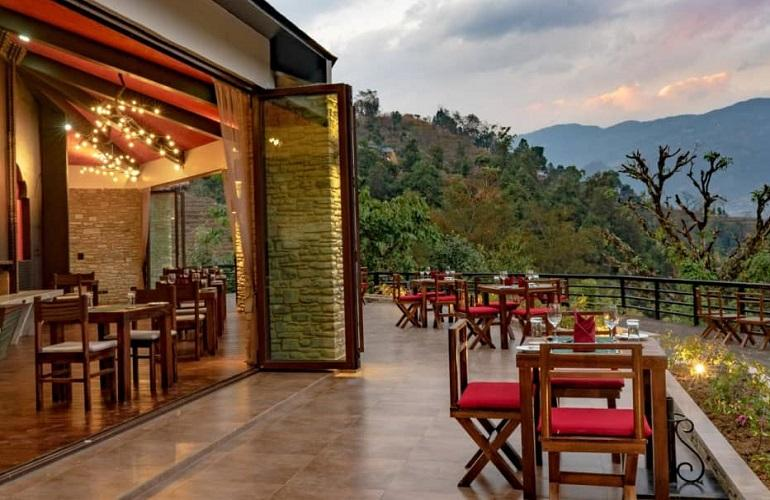 restaurant, The Pavilions Himalayas Lake View