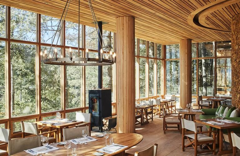 Dining Restaurant, Six Senses Bumthang