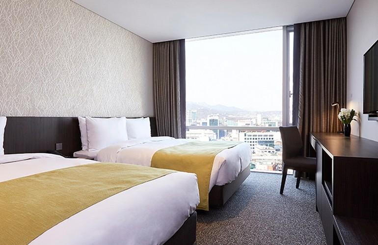 Family room, Nine Tree Premier Hotel Myeongdong