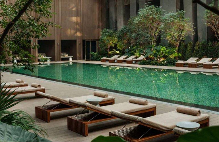 Swimming Pool, Rosewood Beijing